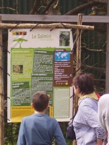 Education zoo Mervent
